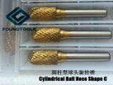 Cylindrical Ball Nose(ShapeC)